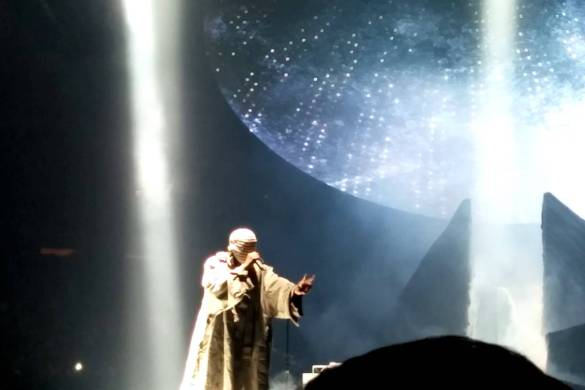 Kanye West Creativity Rant at Madison Square Garden in NYC