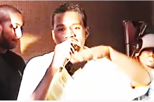 #tbt Kanye West Freestyling in 1996 [FULL VIDEO]
