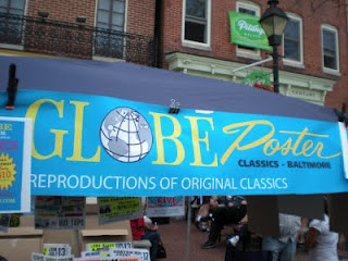 Globe Poster Store Front