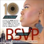 Shelby J Live Stream Event RSVP