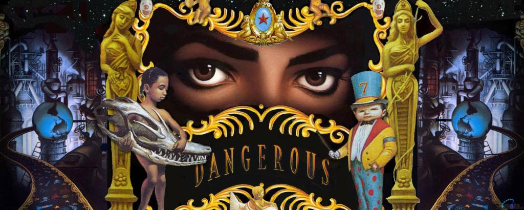 Michael Jackson Dangerous Album Art