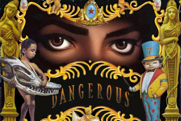 Michael Jackson Dangerous Album Cover Art