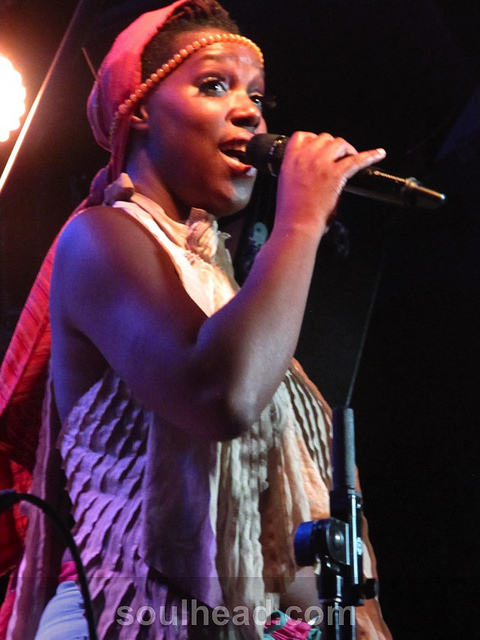 Imani Uzuri Live at the Blue Note on April 1, 2013