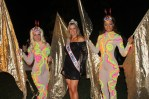 Mrs. Florida Teresa Sheffield con las artistas de Zhantra Entertainment