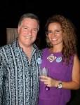 Norm Adams y Michelle Shaw