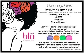 Bloomie Beauty Happy Hour