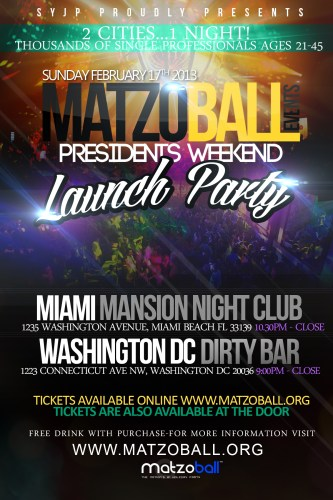 MatzoBall®-Events-Launch-Party