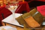Ceviche y tamal