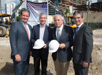Brickell Heights Groundbreakng 7-31-2014