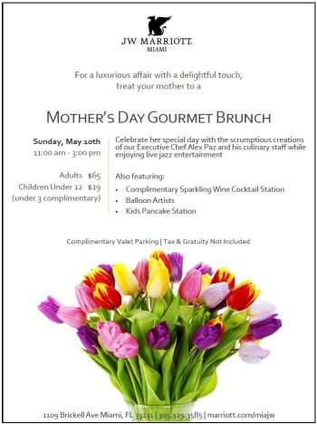 Mothers-Day-at-the-JW-Marriott-Miami