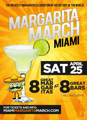 margarita-march-miami-poster