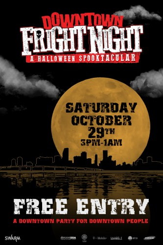 Downtown-Frightnight-poster-front-side