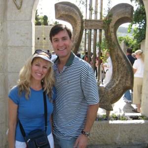 Bill & Kristi Gaultiere in Israel