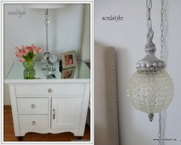 Night stands & vintage lighting (2)