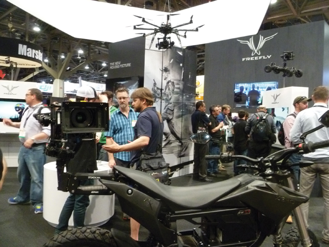 MōVI with Bluetooth connection enables access to performance data and real-time adjustment of gimbal parameters.