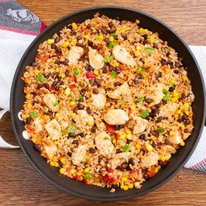A Guilt-Free Recipe for Dinnertime Success: One-Pot Fiesta Chicken