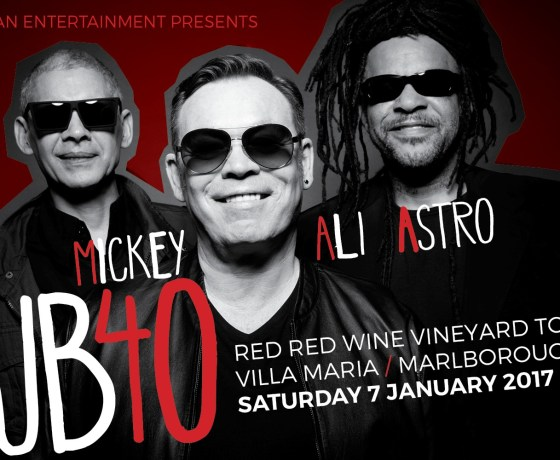 UB40 red red wine vineyard tour transport Marlborough 2016