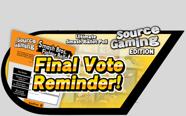 Final Vote reminder alt