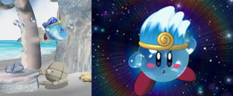 Water Kirby Comparison