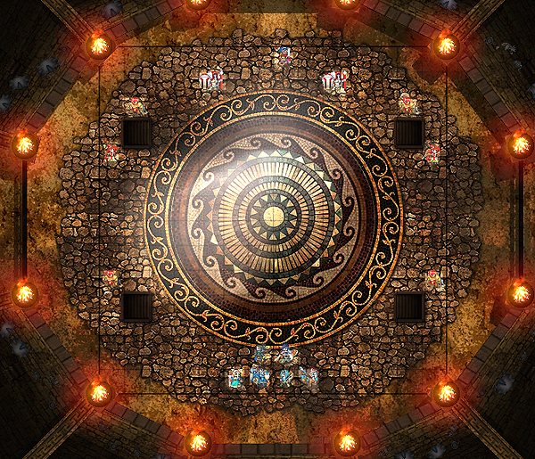 Arena Ferox, as seen as a map in Fire Emblem: Awakening.
