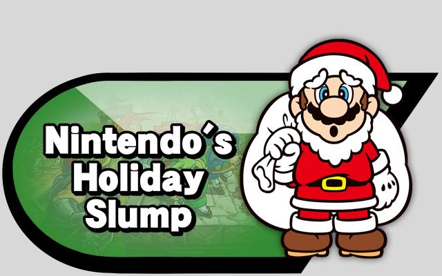Holiday slump