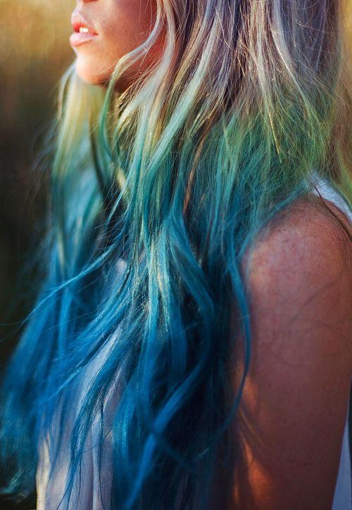 Verliebt Bis Unter Die Haarwurzel Der Umwerfende Ombre Hair Look