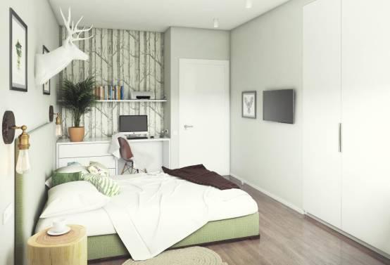 schlafzimmer mint wald. Black Bedroom Furniture Sets. Home Design Ideas