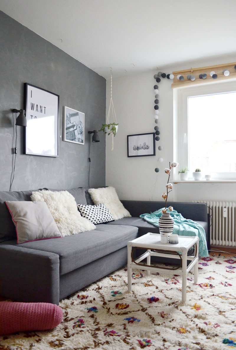 mein wohnzimmer im herbst schlicht und gem tlich mit 3. Black Bedroom Furniture Sets. Home Design Ideas