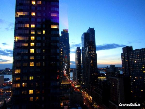 vue chambre yotel new york