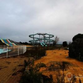 parc de loisir abandonné
