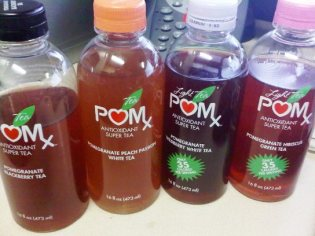 POMx Pomegranate Teas