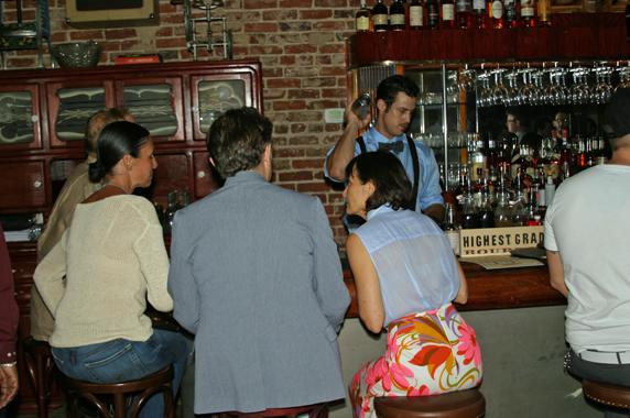 Inside Sassafras Saloon