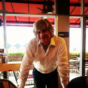Tom Ryan, Smashburger founder, at the Culver City Smashburger restaurant.