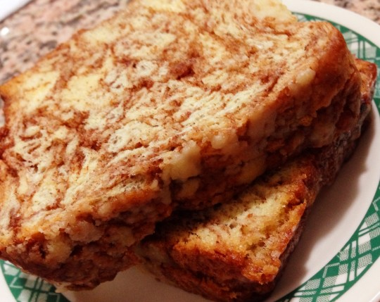 Greenlee's cinnamon bread