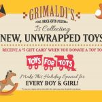 Grimaldi's Pizzeria Supports Local 'Toys for Tots'