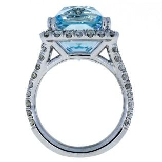 Aquamarine Diamond South Bay Gold