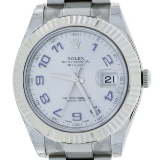Rolex Oyster Perpetual DateJust II 116334 South Bay Gold