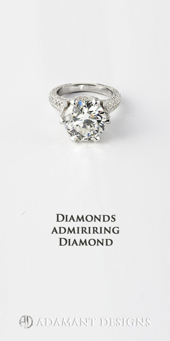 6 Carat Diamond Ring by Adamantine South Bay Gold - Torrance