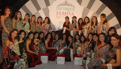 pantaloons femina miss india 2008 finalists Femina Miss India 2008 : April 5 2008