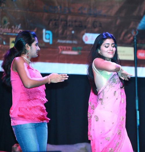 shriya dance in usa show22 Actress Shreya charan hot dance in USA show photo gallery