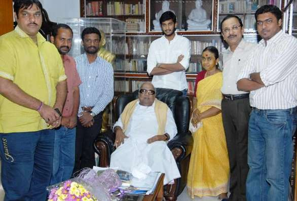 karunanith family Karunanidhi's grand son to make his debut as hero!