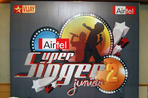 Airtel Super singer 2 Vijay TV    Airtel Super Singer Junior 2   wildcard round results