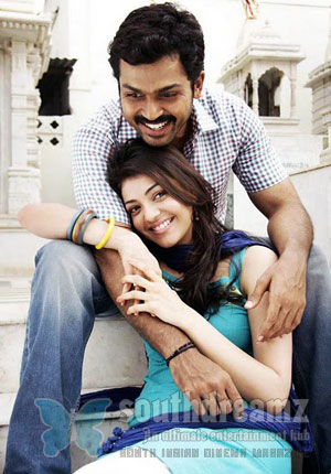 Naan Mahan Alla21 Karthi says Kajol Agarwal is better then Tamanna