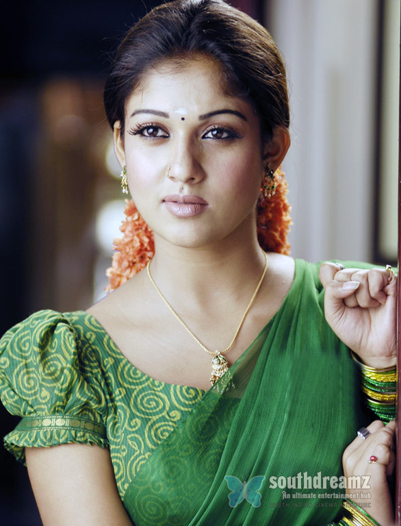 nayanthara red lips 1 Womens welfare association protests against Nayanthara