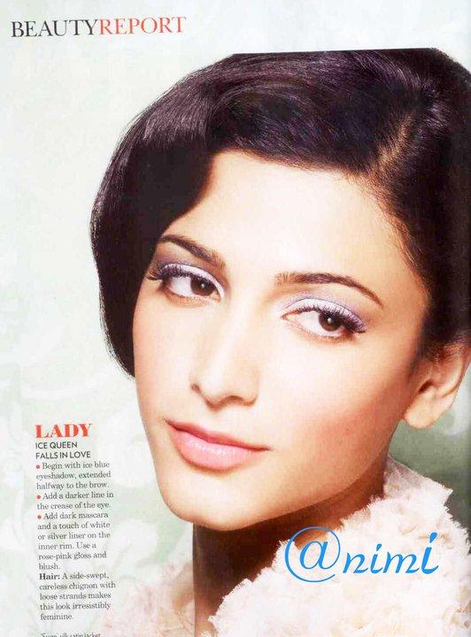 Shruti Hassan photoshoot2 Shruti Hassan on Vogue Magazine