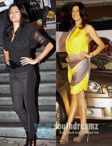 Sushmita Sen Worst dressed Bollywood Actresses of 2010