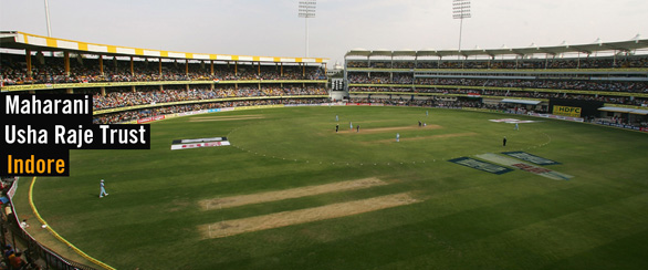 Holkar Cricket Stadium Indore India Indore   India