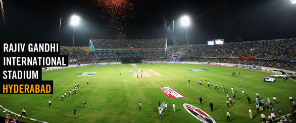 Rajiv Gandhi International Stadium Hyderabad India Hyderabad   India