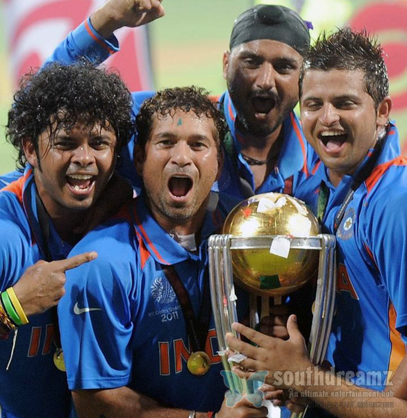 indian cricket team ICC cricket world cup 2011 champian stills 6 INDIA wins ICC Cricket World Cup 2011