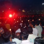 Candle light for Tamils, Marina Beach, June 26th (3)